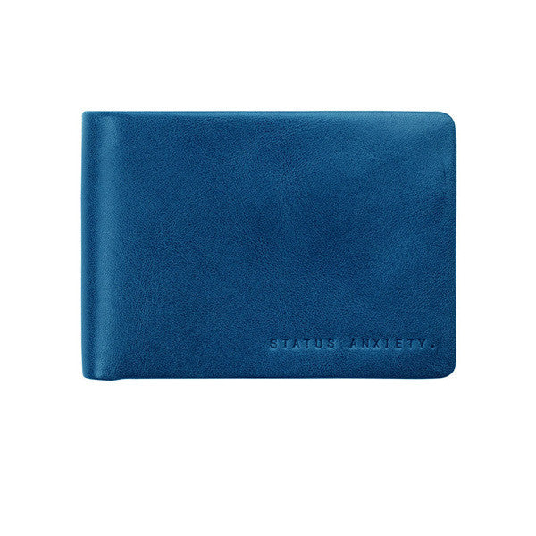 Jonah Mens Wallet - Blue