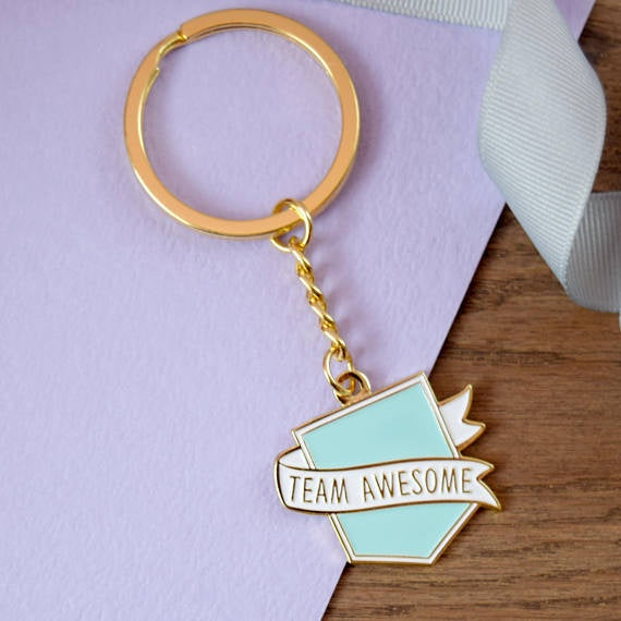 Team Awesome Flag Keyring