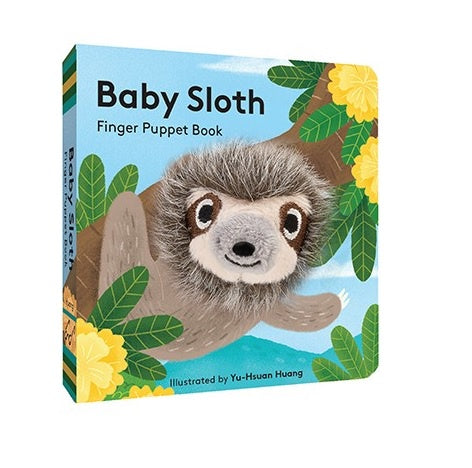 Finger Puppet Book - Baby Sloth