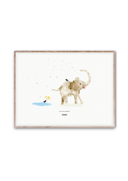 Ellie The Elephant Print 30x40