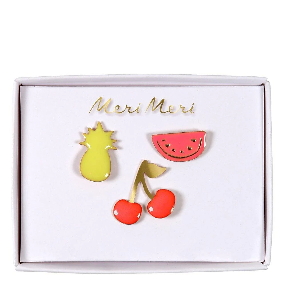Enamel Pins - Fruit