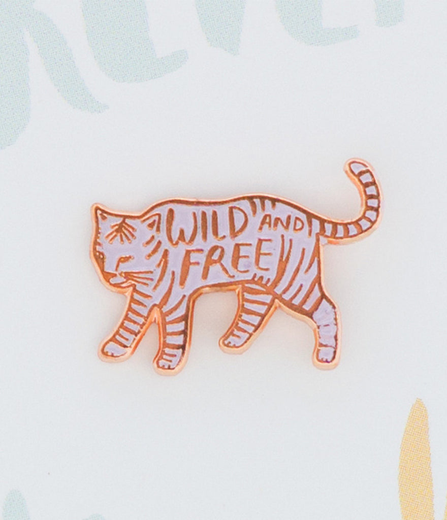 Enamel Pin - Wild and Free