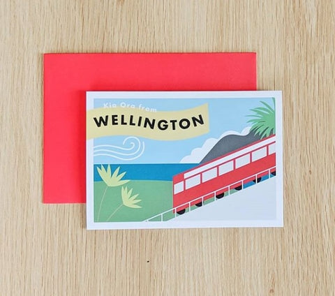 Kia Ora from Wellington Card