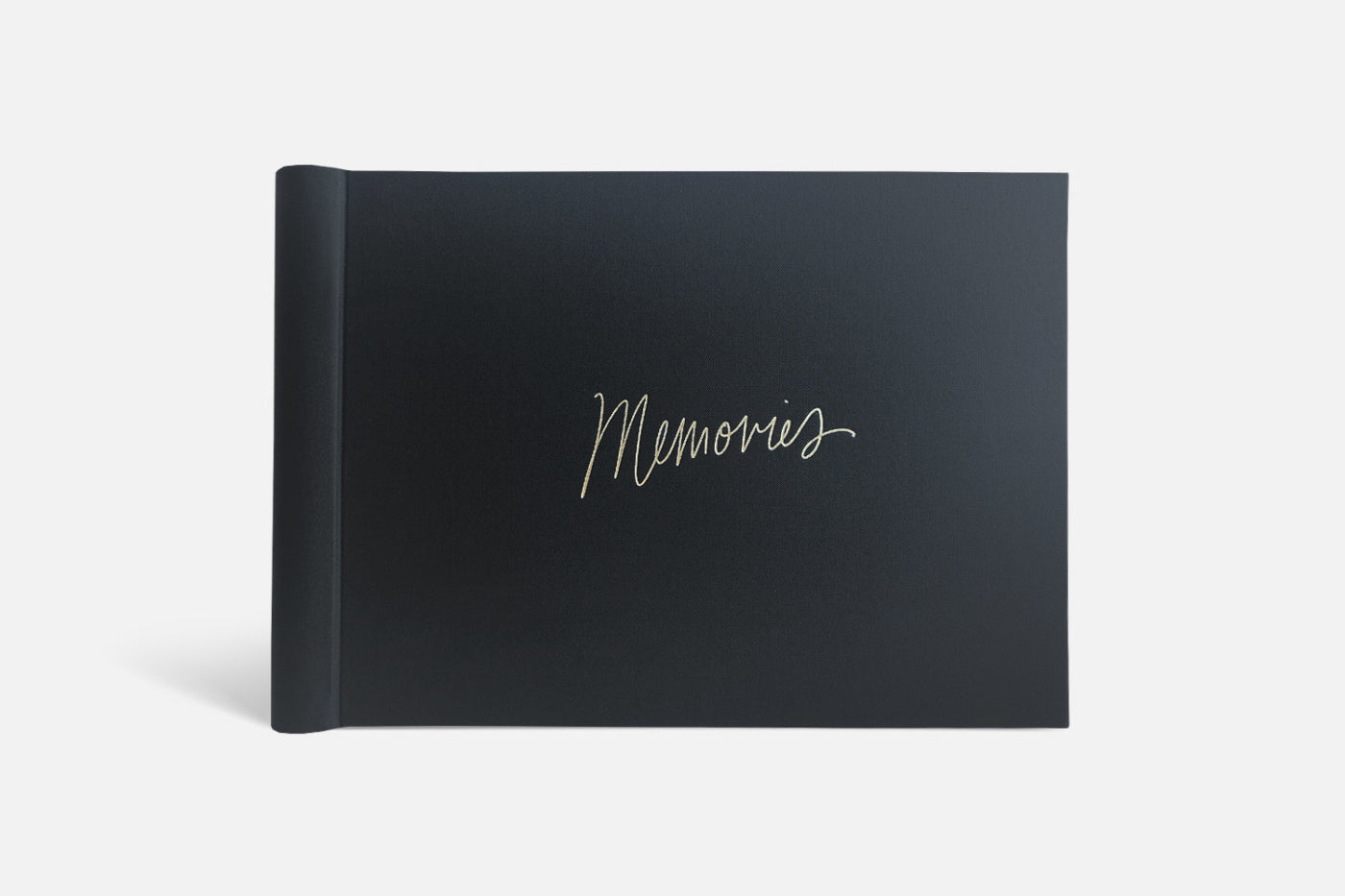 Memories Photo Album - Black Linen