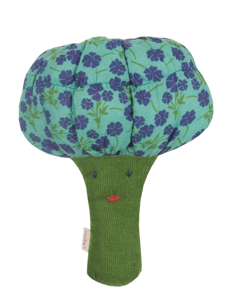 Broccoli Rattle Soft Toy