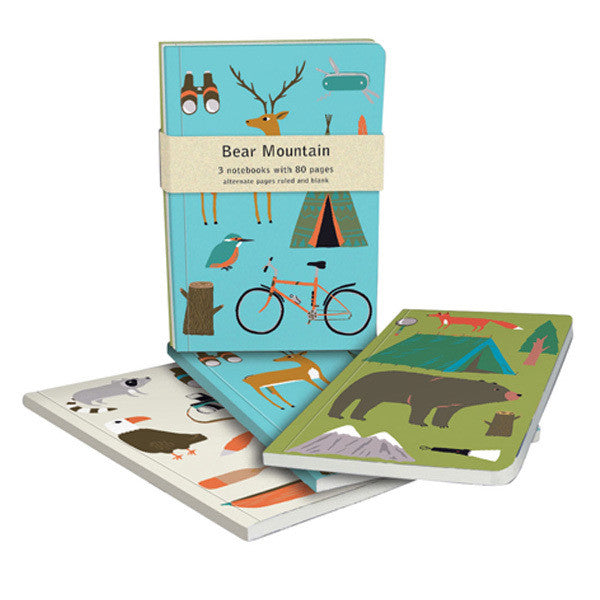 Bear Mountain Notebook Set