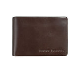 Jonah Mens Wallet - Chocolate