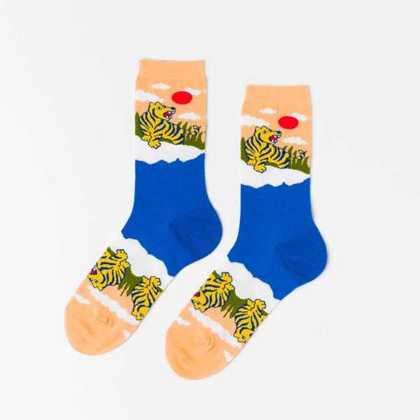 Socks - Tiger