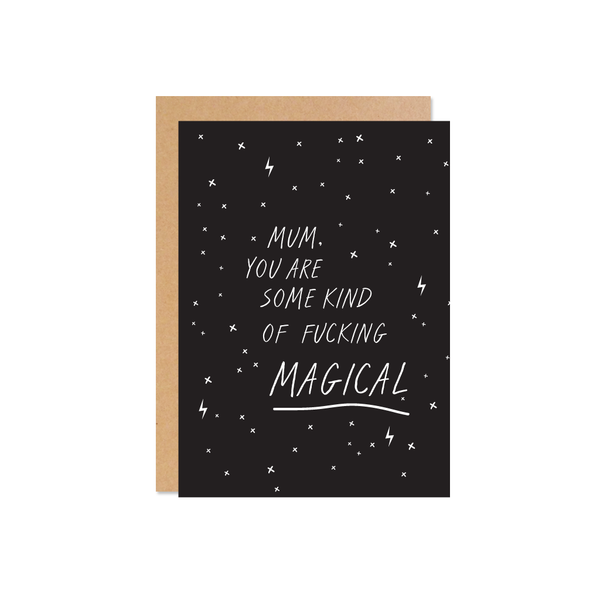 Fucking Magical Mother's Day Card