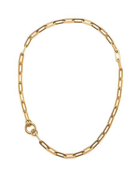 Fifth Symphony Big Chain Necklace - Gold