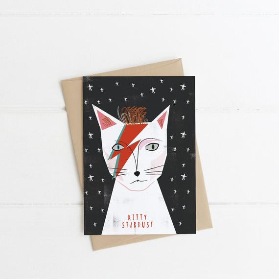 Kitty Stardust Card