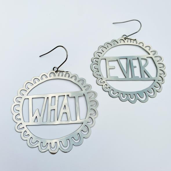 Whatever Earrings - Silver