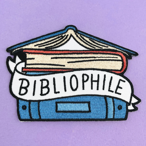 Embroidered Patch – Bibliophile
