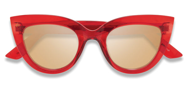 Double Take Sunglasses - Ruby Red