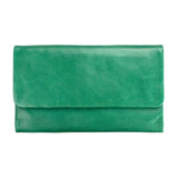 Audrey Wallet - Emerald Green