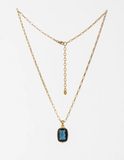 Lucent Necklace - Indigo & Gold