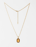 Lucent Necklace - Saffron & Gold
