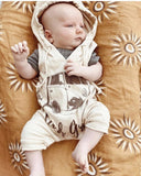 Cotton Baby Wrap - Koa