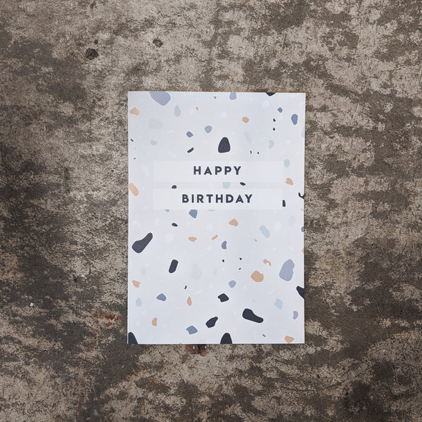 Giant Card - Happy Birthday