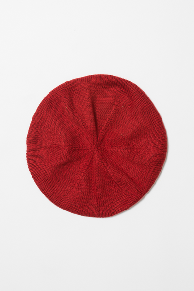Merino Beret - True Red