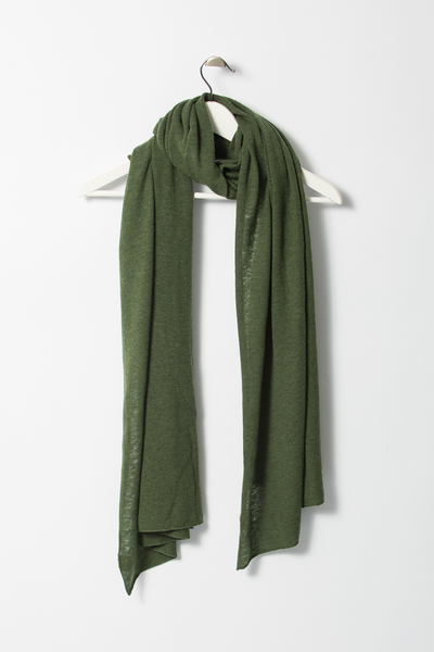 Merino Scarf - Forest Green
