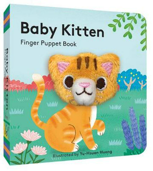 Baby Kitten - Finger Puppet Book