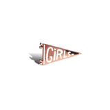 Girls Pennant Pin
