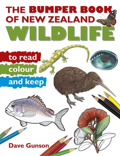 Bumper Book of New Zealand Wildlife to Read, Colour and Keep