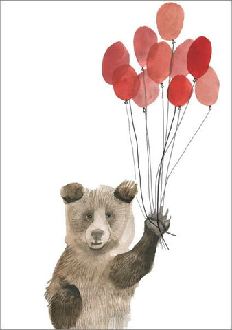 Poppy The Bear Card