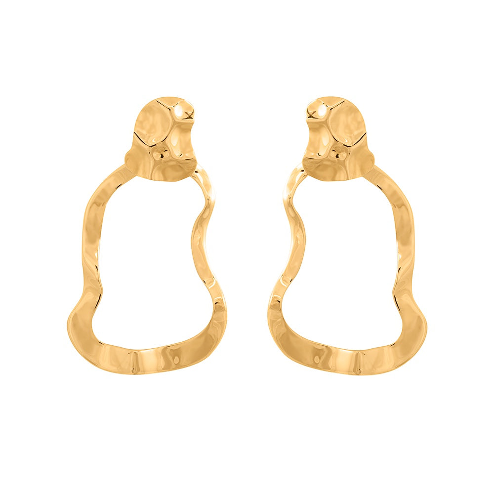 Mirer Reverie Earrings - Gold