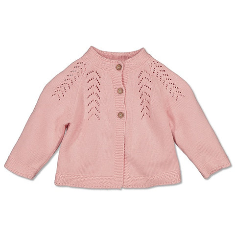 Lily Knit Cardigan - Pink
