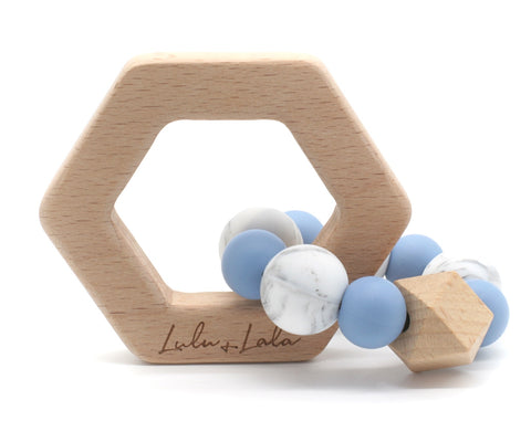 Lennox Teether - Blue