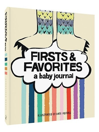 Firsts and Favourites - A Baby Journal