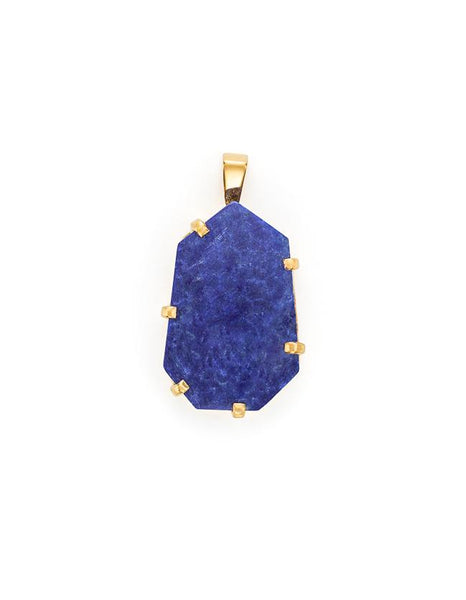 Fifth Symphony Amulet - Gold & Lapis