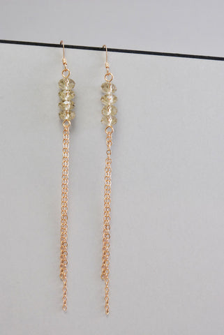 Mist Crystal Rose Gold Drops