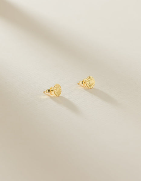 BLACK: Dolce Earrings - Gold