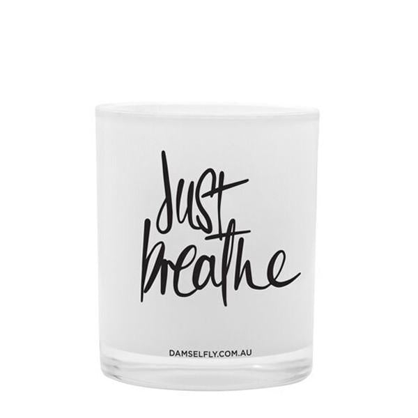 Just Breathe Candle