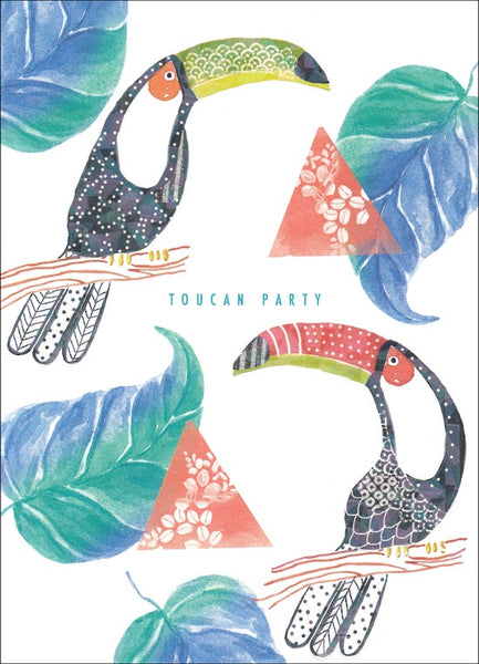 Toucan Party Card