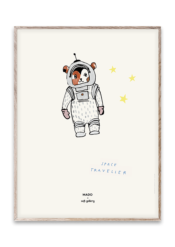 Space Traveller Print 30x40