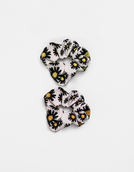 Scrunchies Set of Two - Daisy