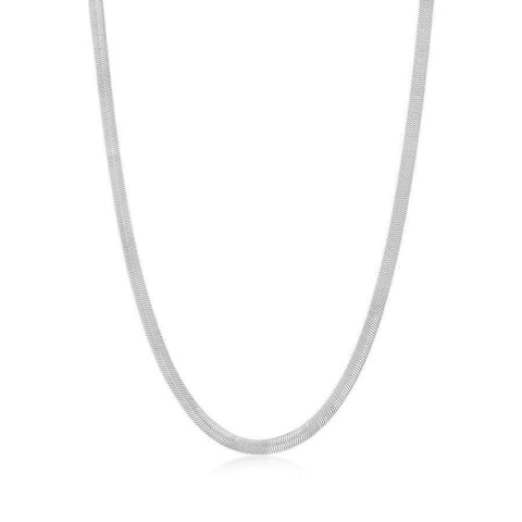 Axel Chain Necklace - Silver