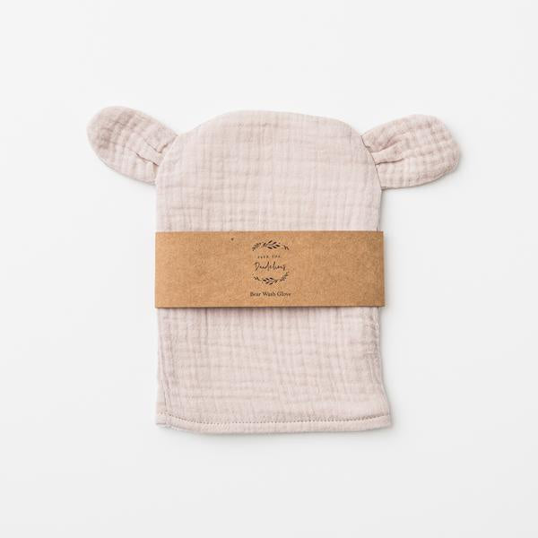 Bear Wash Glove - Sand