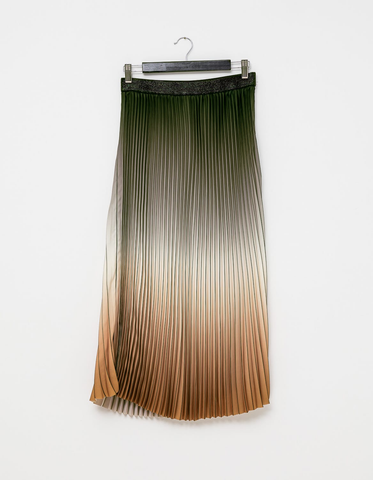 Ombre Skirt - Forest & Clay