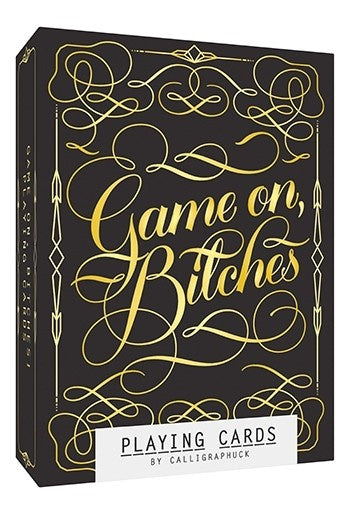 Game On B*tches - Playing Cards
