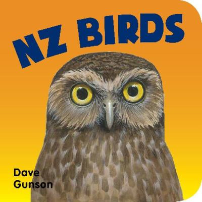 NZ Birds Board Book