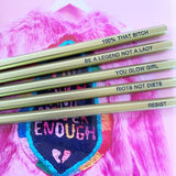 Pencil Pack - Feminist Pencil Set #3