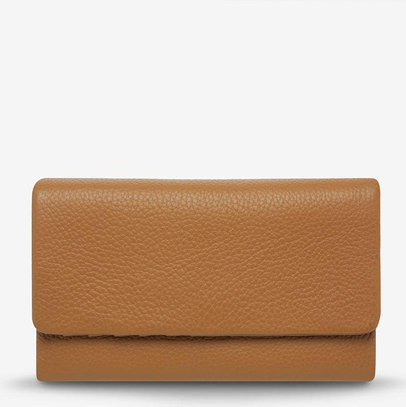 Audrey Wallet - Pebble Tan