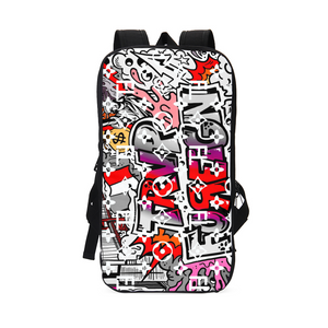 TℲ Graffiti Designer Slim Backpack SE