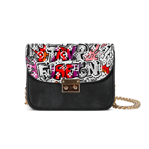 TℲ Graffiti Designer Shoulder Bag SE