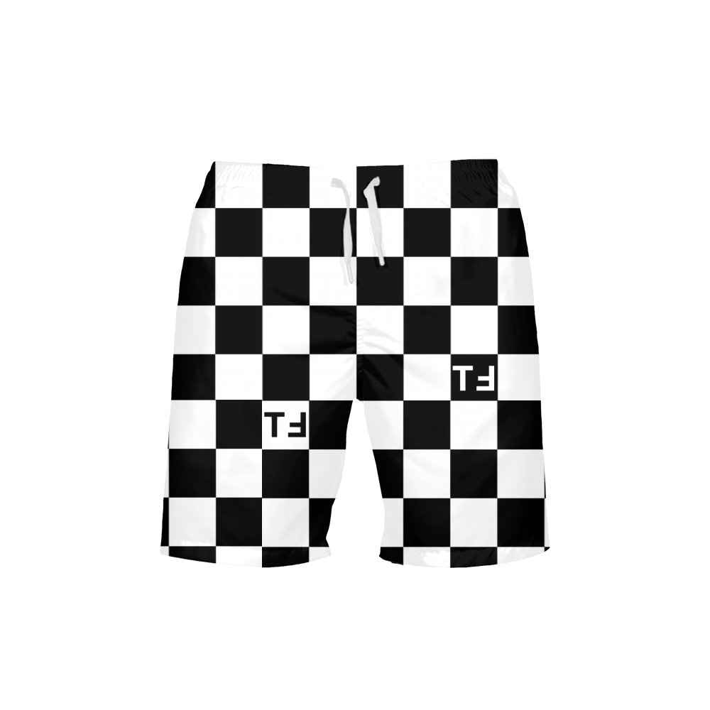 TℲ Checkerboard Mens Swim Trunk